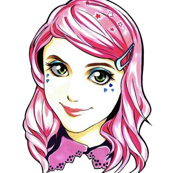portrait anime manga 似顔絵