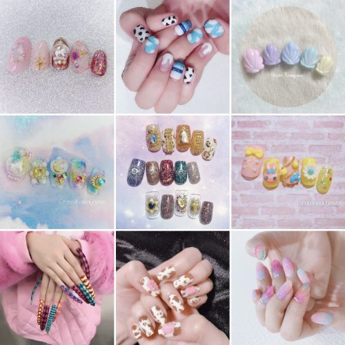 Nail chip, ongles, kawaii, beauté des mains, esthétique, beauty, nail art, order made, cadeau, cadeaux, gift, present, cosplay, cosplayer, Japan, Japon